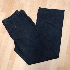 Jeans, straight leg medium rise